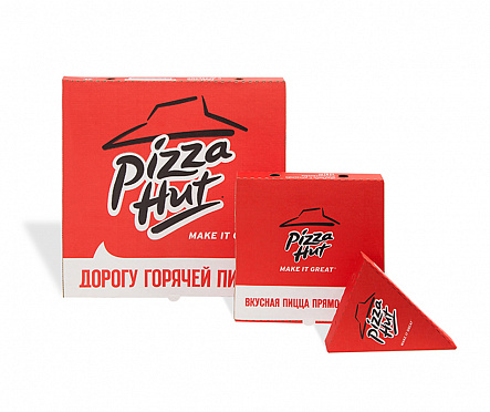 КОРОБКИ ДЛЯ PIZZA HUT